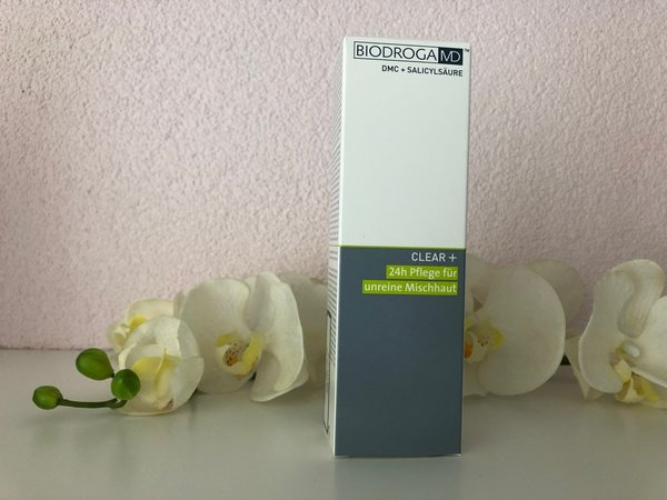 Biodroga MD - Clear+ 24h Pflege unreine Mischhaut, 75ml