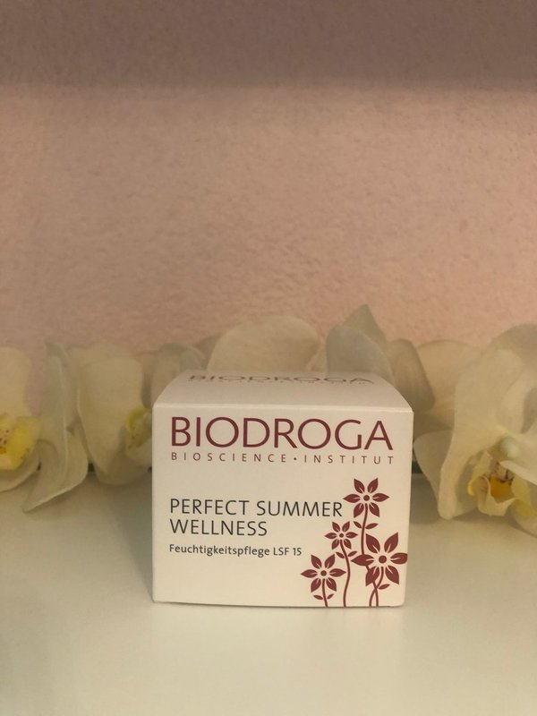 Biodroga Perfect Summer Wellness - LSF 15, 50ml
